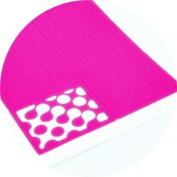 Blended dots Nail Vinyl guides stencils 24 pk