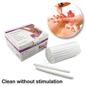 BnG Disposable Soft 100% Cotton Stick Toe Rope Pedicure Beauty Nail Toe separaters Care Tools For Home Made or Salon
