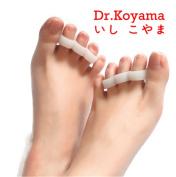 Dr.Koyama 4 PCS Gel Hammer Toe Separator Bunion Corrector Straightener Seperator Splint Spreaders Pad Pain Relief