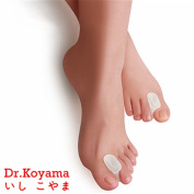 Dr.Koyama Silicone Gel Big Toe Separators Spacer Straightener Foot Bunion Pain Relief Kit