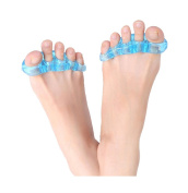 Toe Gel Straighteners Separators Pain Relief Instant Therapeutic Relief for Your Feet for Yoga and Sports Activities