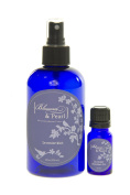 Blossom and Pearl French Lavender Cosmetics Bundle - Lavender Body Spray Mist *can be used as Linen Spray too* Lavender Essential Oil.