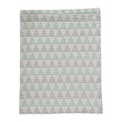 DwellStudio Ombre Triangles Nursery/Play Blanket