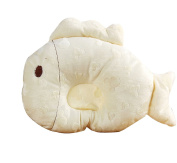 Scheppend Cute Cartoon Baby Pillow Protective Sleeping Anti-roll,Yellow Fish