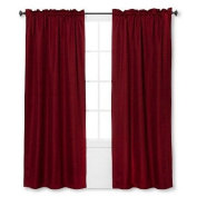 New Curtain Panel Braxton Thermaback Light Blocking ™ Red 110cm x 210cm
