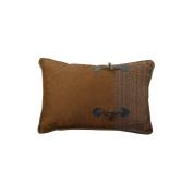 Hiend Accents Unisex Crestwood Buckle Accent Pillow - Lg1880p1