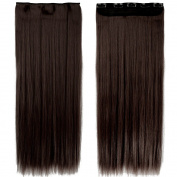 "S-noilite®17""23""24""26""27"" Straight Curly Wavy One Piece Clip in Hair Extensions Any Colour Clip Ins Hairpiece for Women Lady Girl"