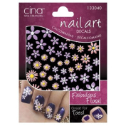Fabulous Floral Nail Art 3-D Decals