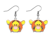ADORABLE TIGGER WINNIE THE POOH BUDDY CHARM DANGLE PIERCED EARRINGS
