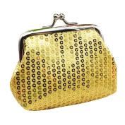 Small Sequin Wallet,Morecome Card Holder Coin Purse Clutch Handbag Bag