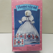 WonderArt Crafts Homestead Pillowcase Doll - Sarah Art #9703