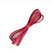 3mm Thick Faux Leather Micro Fibre Suede Cord Assorted Colours for Friendship Bracelet Braiding String,1m long by Crqes