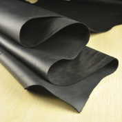 Passion Junetree LEATHER HIDES COW SKINS black thick genuine leather about 2mm cowhide vintage