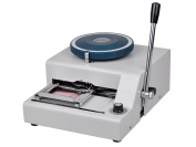 Tek Widget 72-Character Manual PVC/ID/Credit Card Embosser/Embossing Machine
