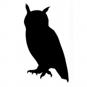 Pack of 3 Owl Stencils Made from 4 Ply Mat Board 11x14, 8x10, 5x7