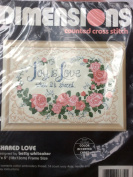 Shared Love - Dimensions Counted Cross Stitch Kit 6632