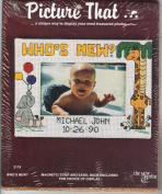 WHO'S NEW. Picture That Photo Frame Cross Stitch Kit #2175