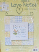 Cosy Shelter - Love Notes - Counted Cross Stitch Kit #72923