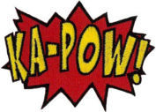 Kapow! Embroidered Patch 8cm x 6cm