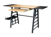 Calico Designs 51240 Convertible Art Drawing/Computer Desk For Kids, Ashwood/Graphite