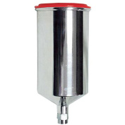 AES Industries 153 1 Litre Aluminium Gravity Feed Spray Cup
