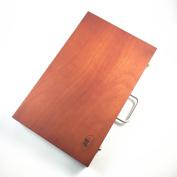 Vintage retro portable artist sketch painting wood easel box