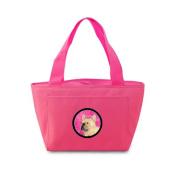 Caroline's Treasures SS4761-PK French Bulldog Lunch or Doggie Bag, Large, Pink