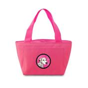 Caroline's Treasures SS4745-PK Dalmatian Lunch or Doggie Bag, Large, Pink