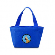 Caroline's Treasures LH9355BU Great Dane Lunch or Doggie Bag, Large, Blue
