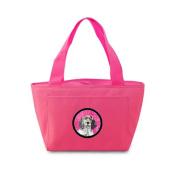 Caroline's Treasures LH9367PK English Setter Lunch or Doggie Bag, Large, Pink