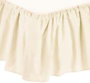 Babyhaven 100% Cotton Percale Porta Crib / Mini Crib 25cm Dust Ruffle, Ecru