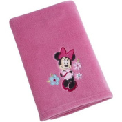 Disney Character Baby Blanket, Minnie Mouse Plush Coral Fleece