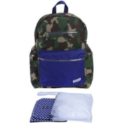 iPack Baby Nappy Bag Backpack, Camo