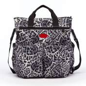 HC Leopard Nappy Bag Stylish Mommy Bag