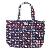 Ju-Ju-Be Super Zippered Tote Nappy Bag, Hello Kitty Out to Sea