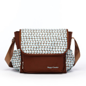 HC Aqua Dot Nappy Bag Crossbody Mom Bag