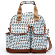 HC Aqua Dot Backpack Nappy Bag Mutifuctional Crossbody Bag