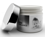 The PureCo Organics USDA Certified Organic Baby Balm. Unscented baby cream for nappy rash 60ml