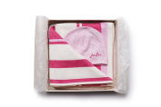 Blanket & Hat GIFT SET - cashmere and organic cotton