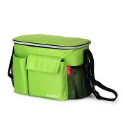 Violet Mist Universal Stroller Organiser Baby Nappy Storage Shoulder Bag, Lime