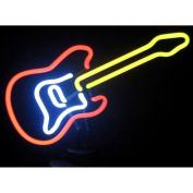 [S]Electric Guitar Neon Sculpture by Neonetics 4ELECG