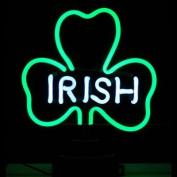 Neonetics Irish Shamrock Neon Sculpture