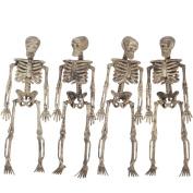 Loftus 3D Skeleton Halloween Decoration 1.5m Garland, Tan