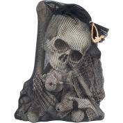 Loftus 60cm Bag of Bones 28pc Halloween Decoration Props, White Brown