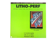 HS BOYD Litho-Perf 12 Tooth 3m Paper Product # 804