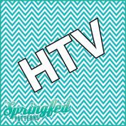 AQUA CHEVRON PATTERN #4 HTV Heat Transfer Vinyl 30cm x 36cm Chevron Stripes for Shirts