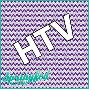 CHEVRON PATTERN #3 HTV Purple & Grey Heat Transfer Vinyl 30cm x 36cm Chevron Stripes for Shirts