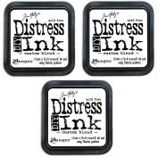 Time Holtz Distress - DIY Distress It Yourself Felt Ink Pads - Set of 3