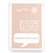 Waffle Flower Dye Ink Pad-Coffee Loves Milk