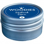 Woodies Dye-Based Ink Tin-Silent Sea